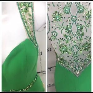 ***BRAND NEW WITH TAGS***Beaded Jazz Couture Gown